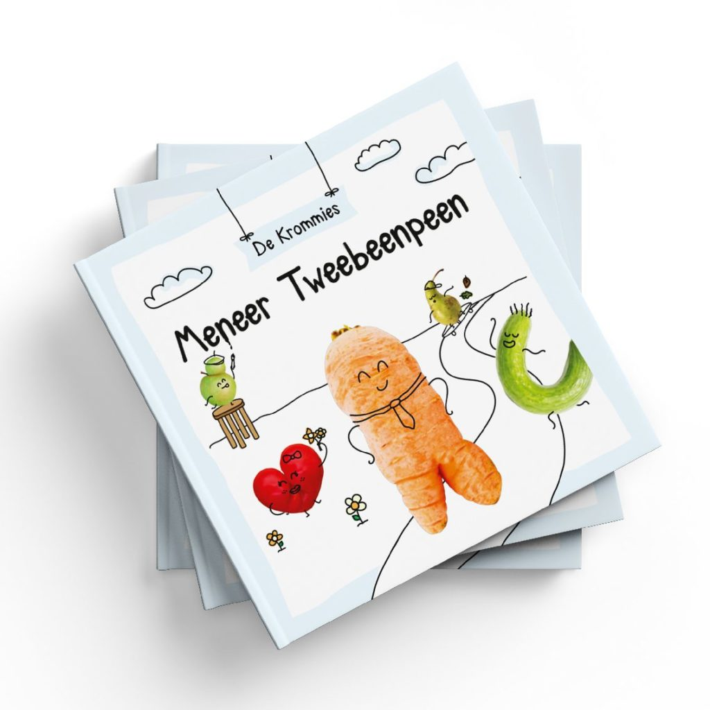 Stichting Kromkommer Kinderboek over Meneer Tweebeenpeen